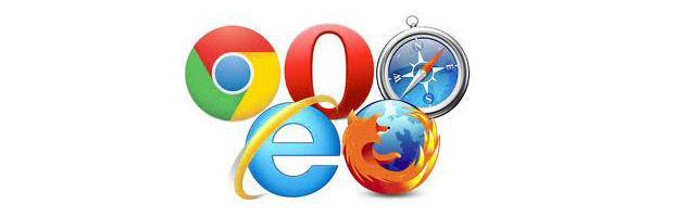 browser: Internet Explorer, Firefox, Chrome, Opera, Safari