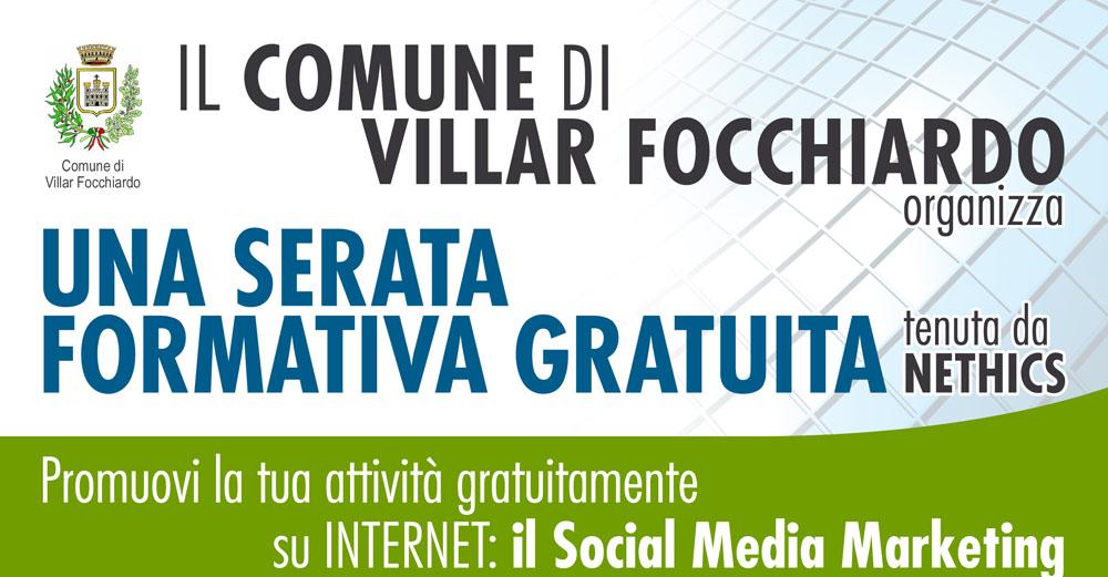 Corso social media marketing Viialrfocchiardo