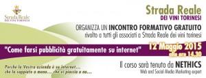 Workshop Social Media Marketing per gli associati Strada Reale dei Vini Torinesi tenuto da Nethics