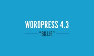 WordPress 4.3 Billie: più facile creare siti internet