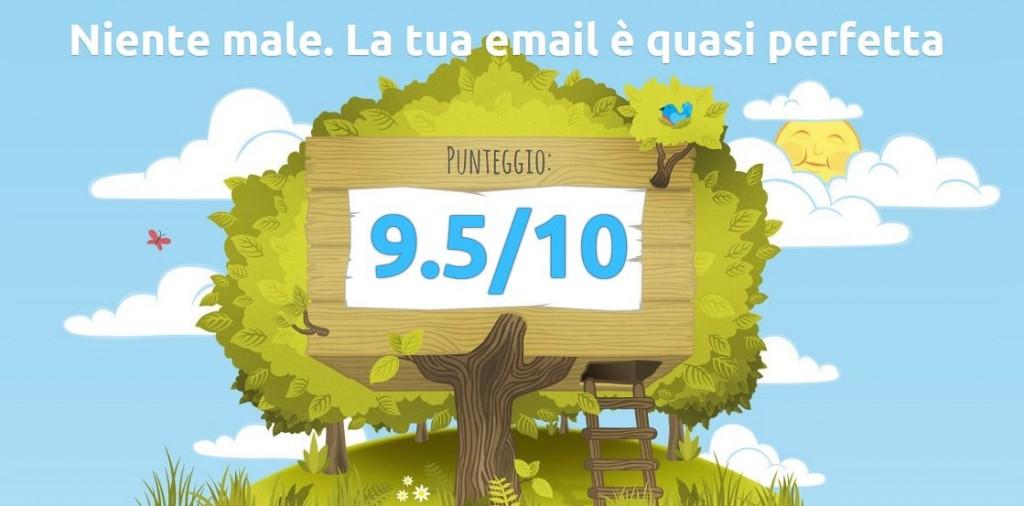 Software online per inviare newsletter e controllare il punteggio di spam