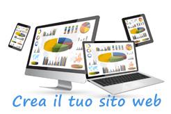 Richiedi informazioni per creare oggi il tuo sito web