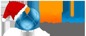 en Logo di Natale Nethics Siti web Torino