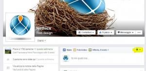 Facebook Pubblicazione pagina