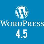Nuova release: WordPress 4.5