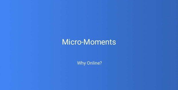 L'uso dei Micro-Momenti secondo Google
