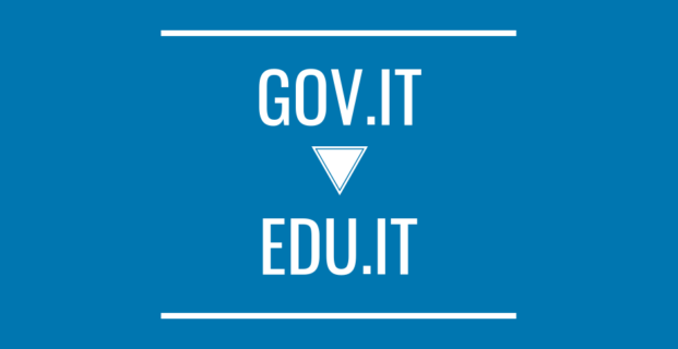 Siti web: dal dominio GOV.IT a EDU.IT