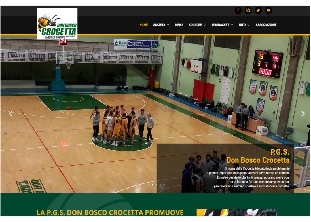Basket Don Bosco Crocetta - Sito Internet - Società Sportiva