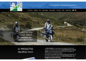 AlpsMoto Tours - Sito Web turistico