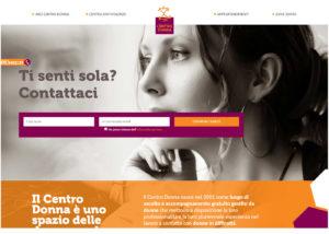 Arci Centro Donna - Siti Web - SEO