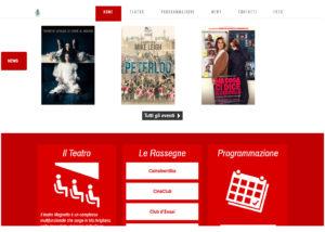 Teatro Magnetto - Sito web - SMM
