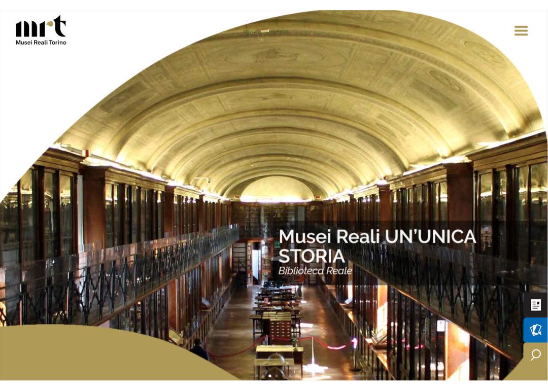 Musei Reali Torino - Sito Internet - Turismo