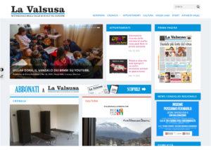Sito internet - La Valsusa: portale web per testate giornalistiche