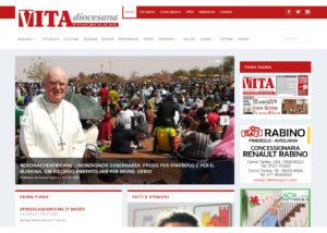 Sito web - Testata giornalistica cattolica Vita Diocesana Pinerolese