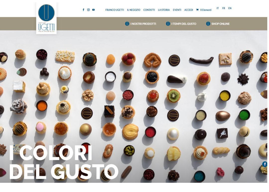 Pasticceria Ugetti - Sito Web - E-commerce