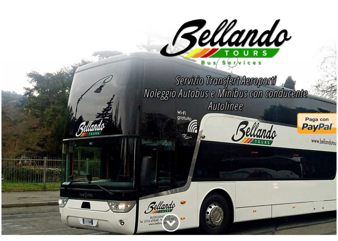 Bellando Tours - Sito web - Azienda Privata