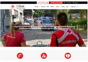 Croce Rossa Italiana Comitato di Susa - Sito Internet