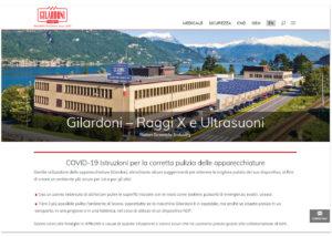 Gilardoni S.p.A. - Sito internet - SEO - SMM