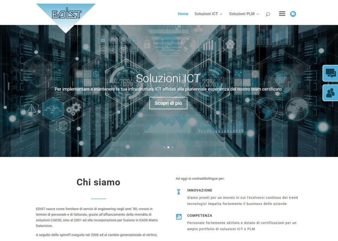 EDIST Engineering Srl - Sito internet - SMM - SEO