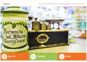Farmacia Savigliano - Sito Web
