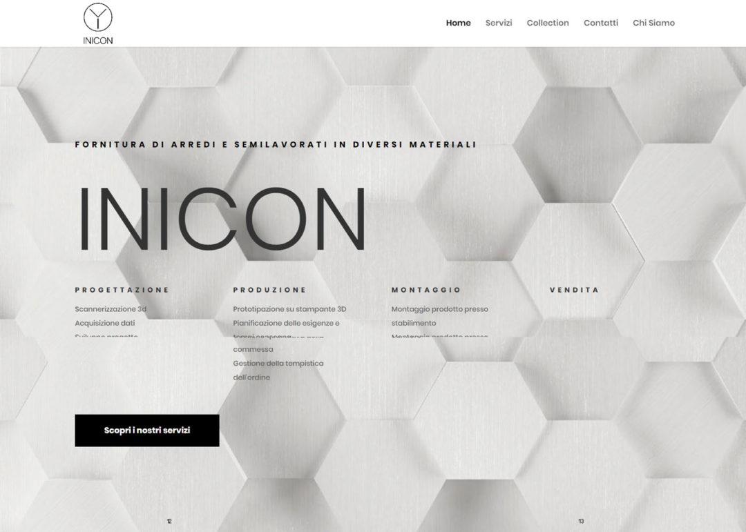 Inicon - Sito Web Aziendale