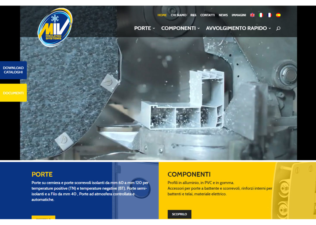 MIV Insulating System: realizzazione sito internet