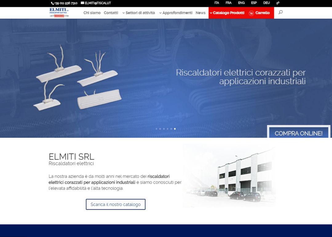 Sito e-commerce B2B: riscaldatori elettrici