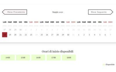 Sistema di prenotazione appuntamenti online: SimplyBook.me
