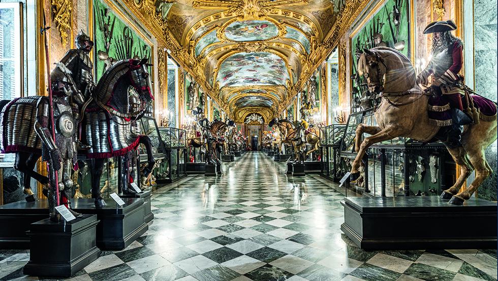 tour virtuali Musei reali Torino Palazzo Reale Armeria