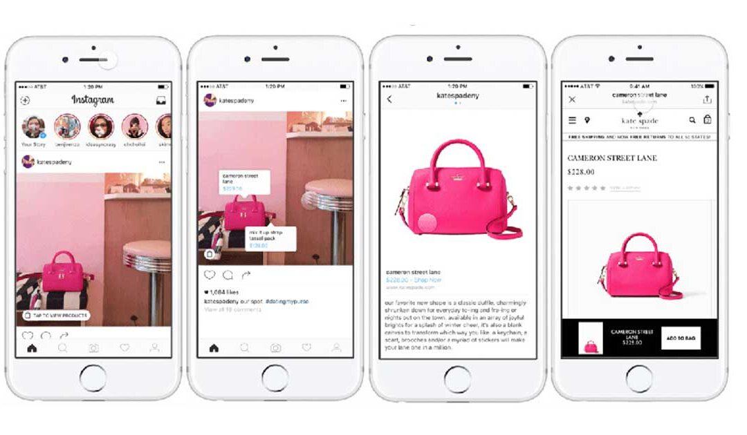 Instagram: come taggare i prodotti del negozio e invitare  allo Shopping