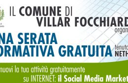 Corso Facebook/Google per artigiani e commercianti a VillarFocchiardo