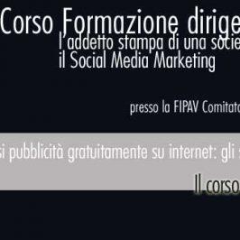 Corso  per addetti stampa  FIPAV